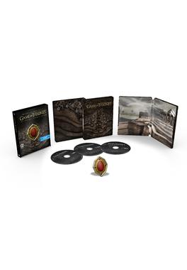 Urzeala tronurilor Sezonul 7- steelbook cu magnet