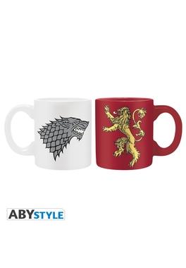 Urzeala Tronurilor set cani mini Stark & Lannister