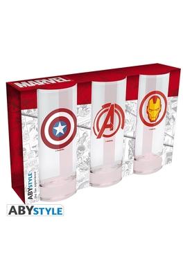 Set 3 pahare Marvel
