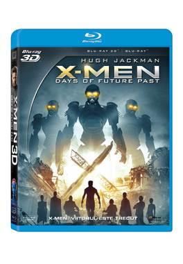 X-MEN: VIITORUL ESTE TRECUT COMBO (3D+2D)