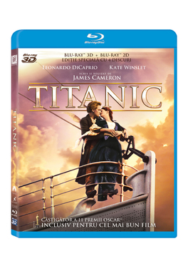 TITANIC (3D) (Restored - 4 discuri)