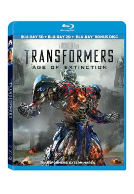 TRANSFORMERS: EXTERMINAREA Combo (3D+2D + Bonus Disc)