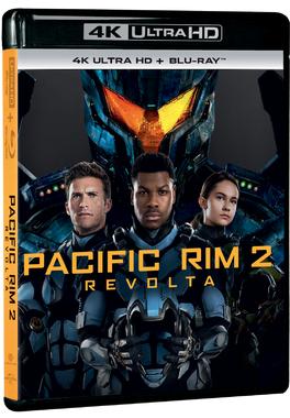PACIFIC RIM 2: REVOLTA 4K
