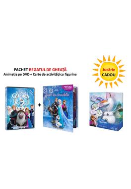 PACHET REGATUL DE GHEATA DVD+ CITESTI SI TE JOCI, JOCURI DIN ARENDELLE