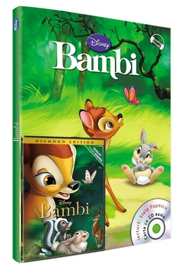Bambi - carte,audiobook si film