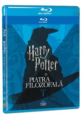 HARRY POTTER 1  - PIATRA FILOZOFALA Editie Iconica