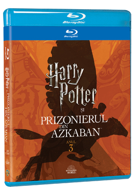 HARRY POTTER 3  - PRIZONIERUL DIN AZKABAN Editie Iconica