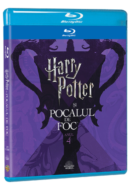 HARRY POTTER 4  - POCALUL DE FOC Editie Iconica