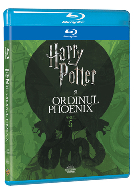HARRY POTTER 5  - ORDINUL PHOENIX Editie Iconica