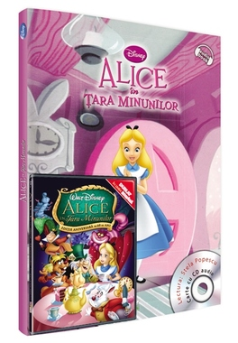 Alice in tara minunilor - carte,audiobook si film