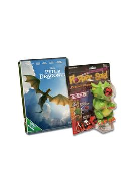 Pachet DVD Pete's Dragon + Jucarie Dragon Plopper