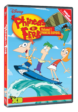 PHINEAS SI FERB VOL.1 - PHINEAS RAPIDUL