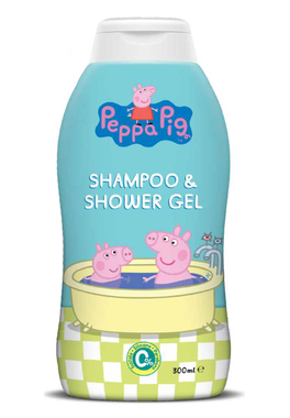 Sampon si gel de dus Peppa PIG