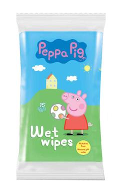Servetele umede Peppa Pig