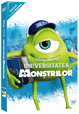 UNIVERSITATEA MONSTRILOR - Colectie Pixar o-ring