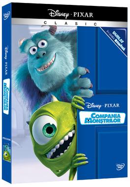 COMPANIA MONSTRILOR - Colectie Pixar o-ring