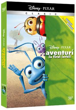 AVENTURI LA FIRUL IERBII  - Colectie Pixar o-ring