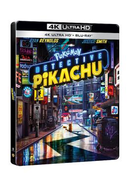 POKEMON DETECTIV PIKACHU Steelbook 4K