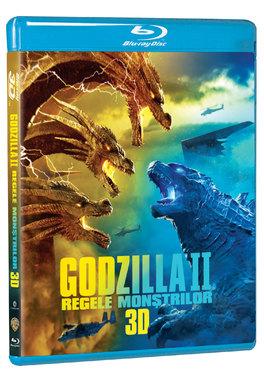 GODZILLA II -  REGELE MONSTRILOR 3D