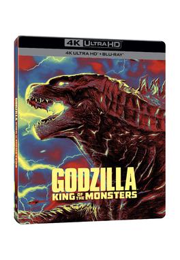 GODZILLA II -  REGELE MONSTRILOR Steelbook 4K