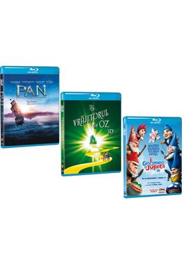 Pachet Blu Ray 3D copii 2