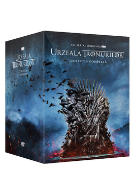 Pachet Urzeala tronurilor 1-8 DVD