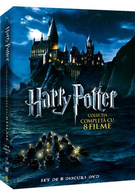 Harry Potter Colectia Completa cu 8 Filme