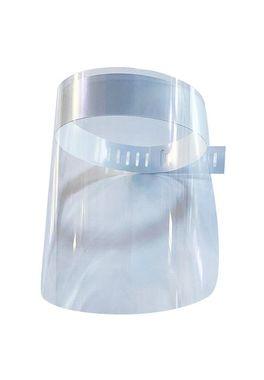 Viziera protectie fata, plastic transparent, prindere reglabila