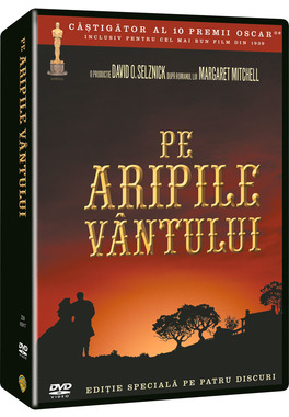 Pe Aripile Vantului / Gone With The Wind (Editie Speciala) 4 discuri