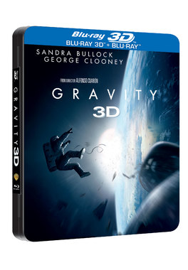 Gravity: Misiune in spatiu - Steelbook