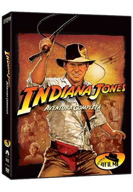 INDIANA JONES  Aventura Completa (4DVD)