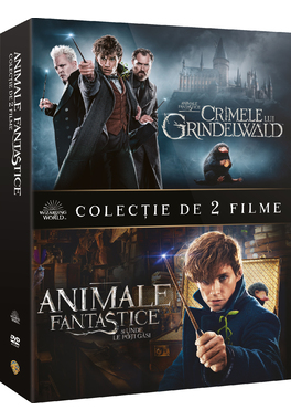 PACHET 2DVD ANIMALE FANTASTICE 1+2