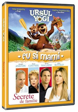 Pachet 2 DVD Secrete de familie si Ursul Yogi