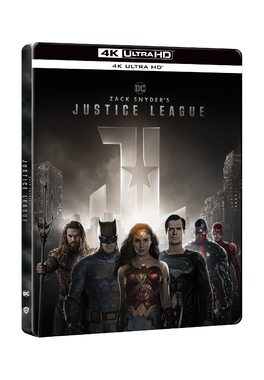 Liga Dreptatii- Zack Snyder 4K STEELBOOK