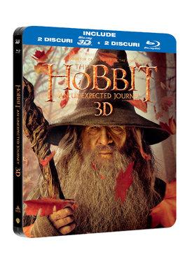 Hobbitul : O calatorie neasteptata - Steelbook