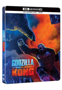 Godzilla vs. Kong 4K steelbook