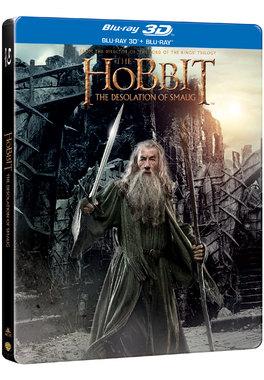 Hobbitul:  Dezolarea lui Smaug - Steelbook