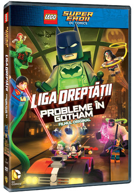 Lego Justice League: Probleme in Gotham