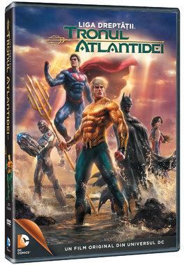 Liga dreptatii: Tronul atlantidei