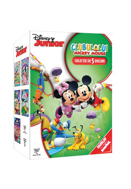 Clubul lui Mickey Mouse: Mickey 5DVD Box Set