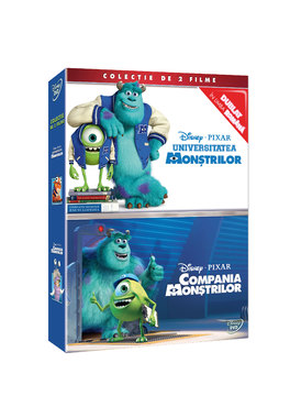 Compania Monstrilor / Universitatea Monstrilor-Disney Pixar- BOX