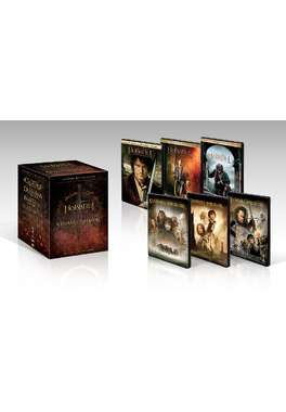 PACHET- Trilogie Hobbit+Trilogie Lord of the Rings