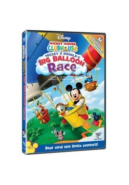 Clubul lui Mickey Mouse: Donald si cursa cu baloane