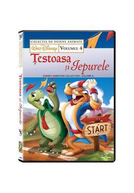 Colectie scurt metraje Disney: Testoasa si iepurele Vol. 4