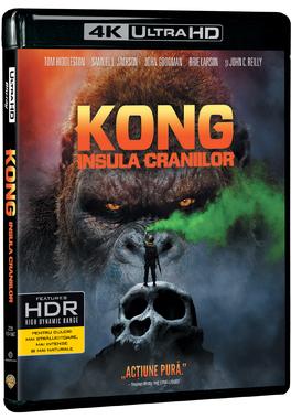 KONG: Insula craniilor-4KBD